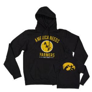 America Needs Farmers Hoodie-Black