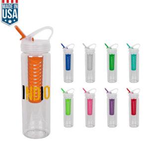 25 Oz Color Fruit Fusion Water Bottle