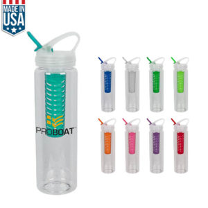 32 Oz Color Fruit Fusion Water Bottle