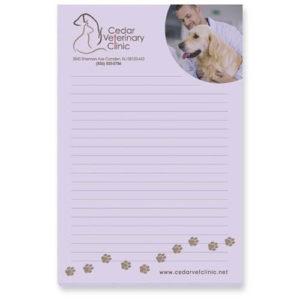 BIC® 4″ x 6″ Adhesive Notepad, 25 Sheet Pad