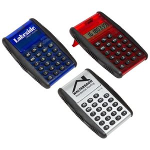 Grip & Flip Calculator with Textured Grip